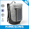 7W solar charging backpack hot selling 15.6 inch laptop solar charger bag