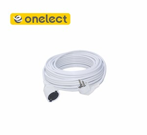 220V electrical extension cord with two female ends