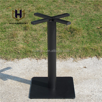 black square table base cast iron table feet modern coffee dining legs