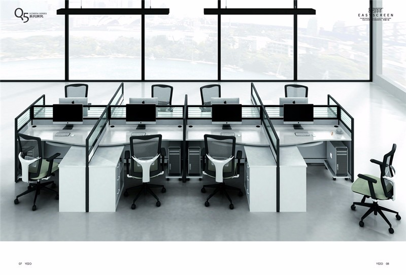 small office workstations. 6-Person Small Office Workstations Open Space Furniture From Foshan Suppliers E
