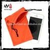supply sports mobile phone arm pouch/microfiber pouch with drawstring/mini drawstring pouch