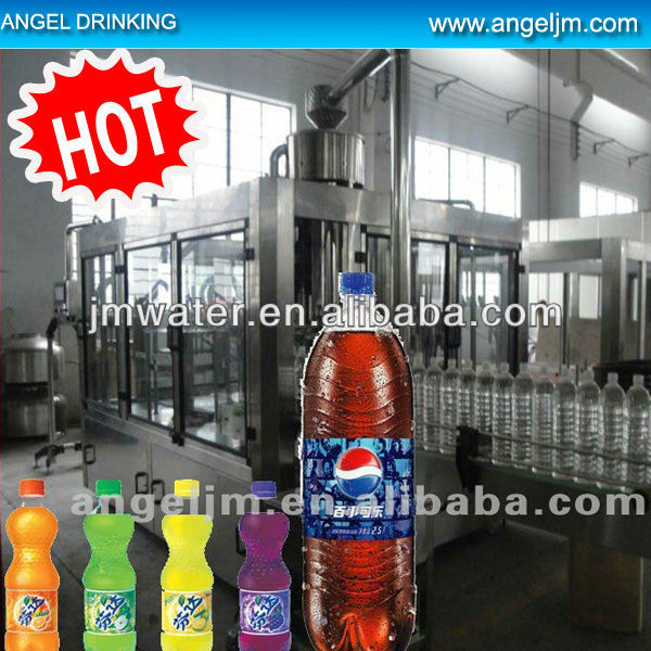 carbonated pet filling line, carbonated pet filling machine, carbonated filling machine