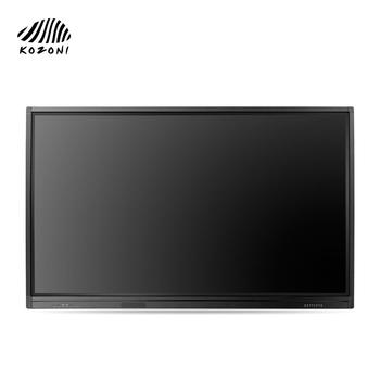 "School and office equipment 75"" IR multi-touch LED display interactive whiteboard from Kozoni"