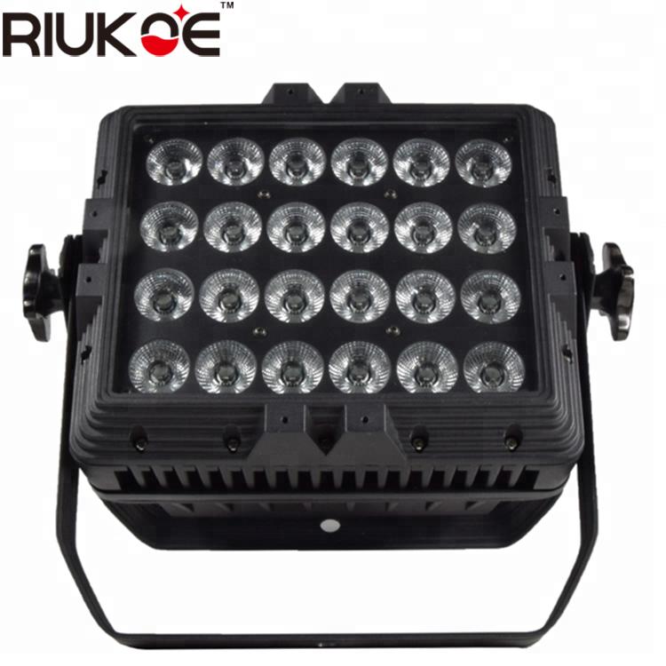 lighting equipment 24x18w led 5in1 par outdoor dmx lighting