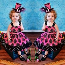 2015 Baby Girls Kids Princess Party Flower Sundress A line Gown font b Fancy b font