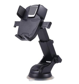 New Advanced Easy One Touch Extension Arm Mobile Phone Car Holder for Iphone X 5.5inch mobile phone