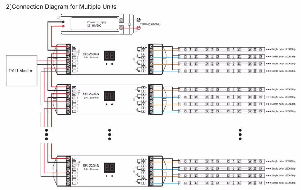 HTB1CzftLFXXXXXHapXXq6xXFXXX5 sunricher 4ch 5a led dali dimmer controller sr 2304b buy 5a led wiring diagram for dali dimming at eliteediting.co