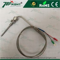 "K Type Thermocouple Temperature Sensors for Exhaust Gas Temperature (EGT) with 1/8"" NPT Adjustable Compression Fittings"