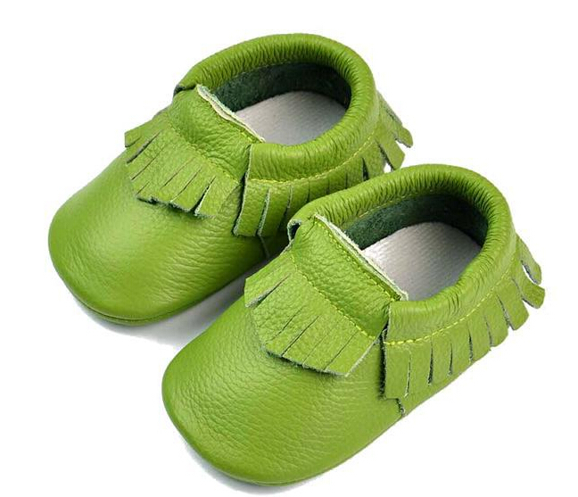 2015 new genuine leather first walkers moccasins tassel shoe newborn toddler footwear infant shoes sa81
