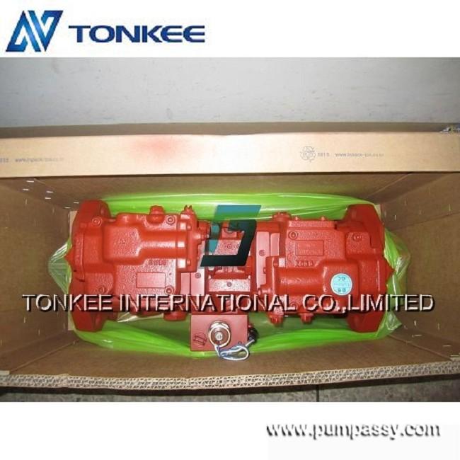 Гидравлический насос K3V112DT-31N8-10070 для экскаватора R305LC-7 OEM KAWASAKI