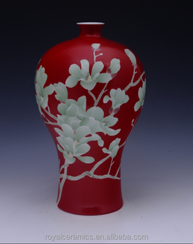 High Value Collection China Famous Master Work Hand Painted Underglaze Porcelain Chinese Antique Vase