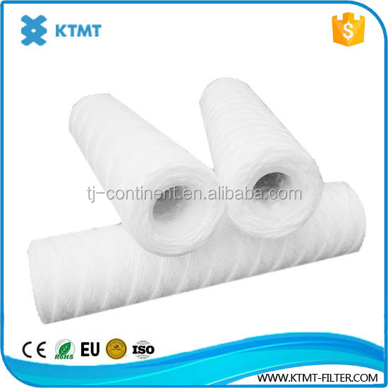 5micro PP String Wound Filter/pp sediment filter cartridge/cotton string wound filter cartridge