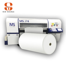 Dark sublimation transfer paper on inkjet printer for cotton t-shirt sublimation raw meterials