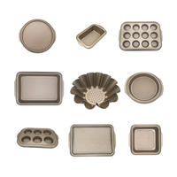 wave bottom bakeware set