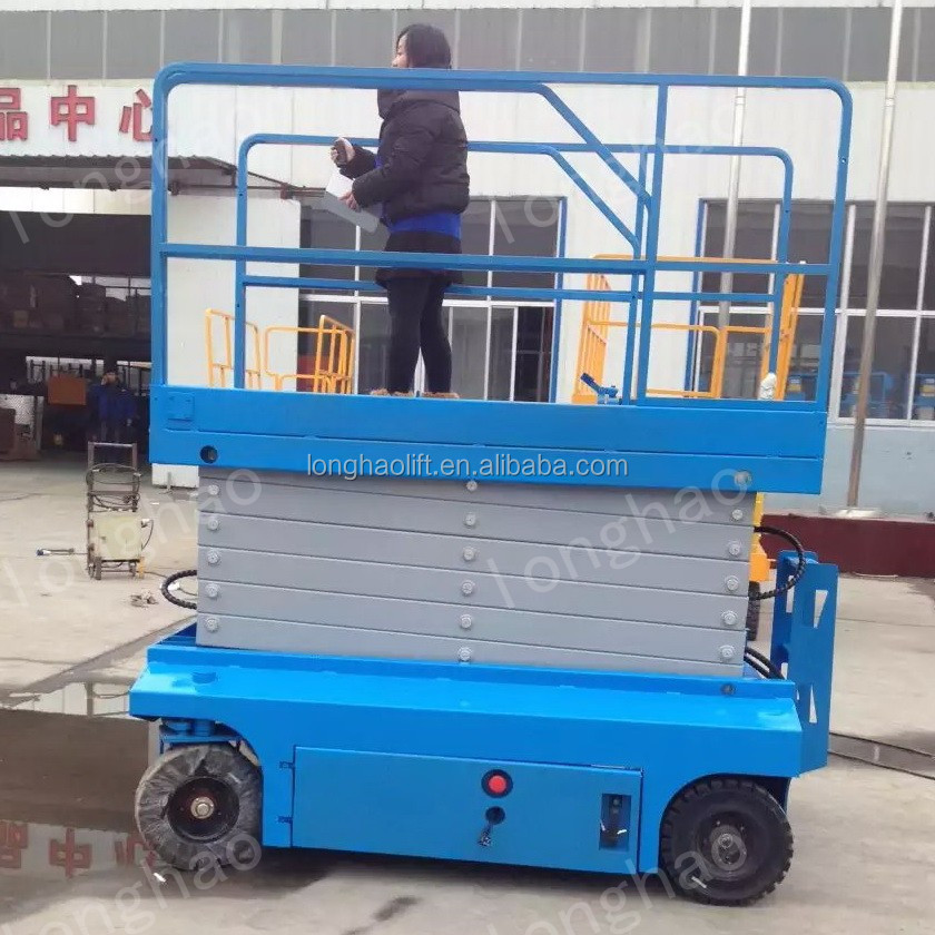Longhao best used car scissor lift for sale with central hydraulics scissor lift best lift tables