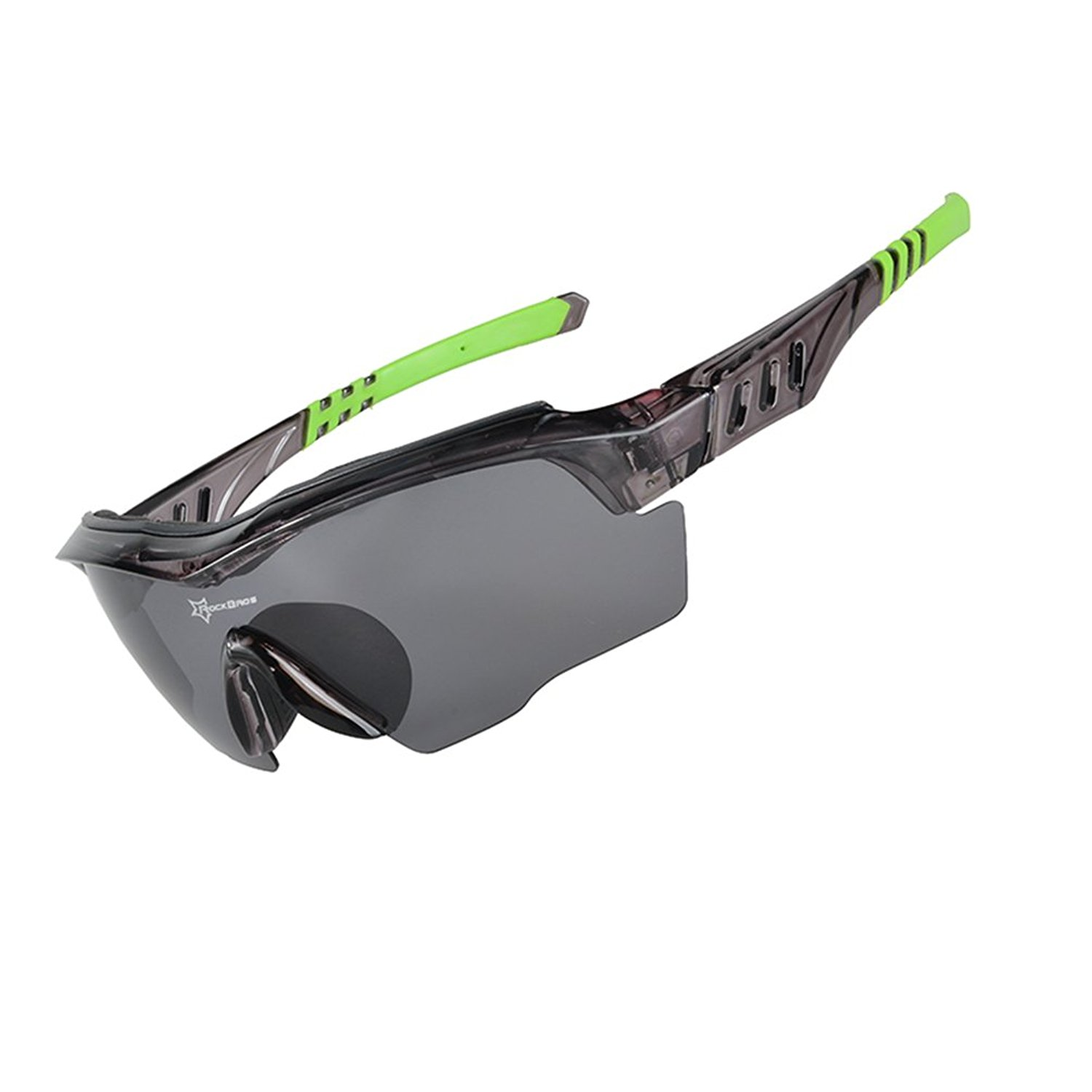 f3cb461383 Get Quotations · RockBros Polarized Cycling Glasses Sports Glasses  Sunglasses Goggles