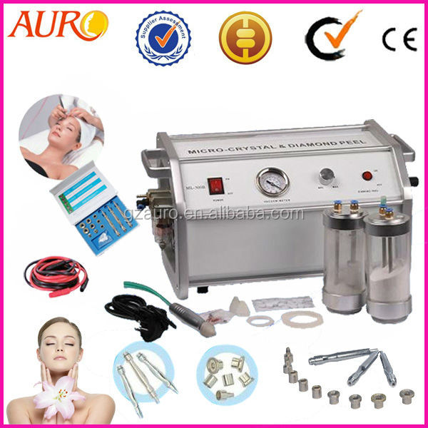 AU-8304A Facial Resurfacing Acne Scar Removal Microdermabrasion Machinend 3 Wands