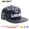Fashion Custom Design Plain Leather Snapback Hat Wholesale