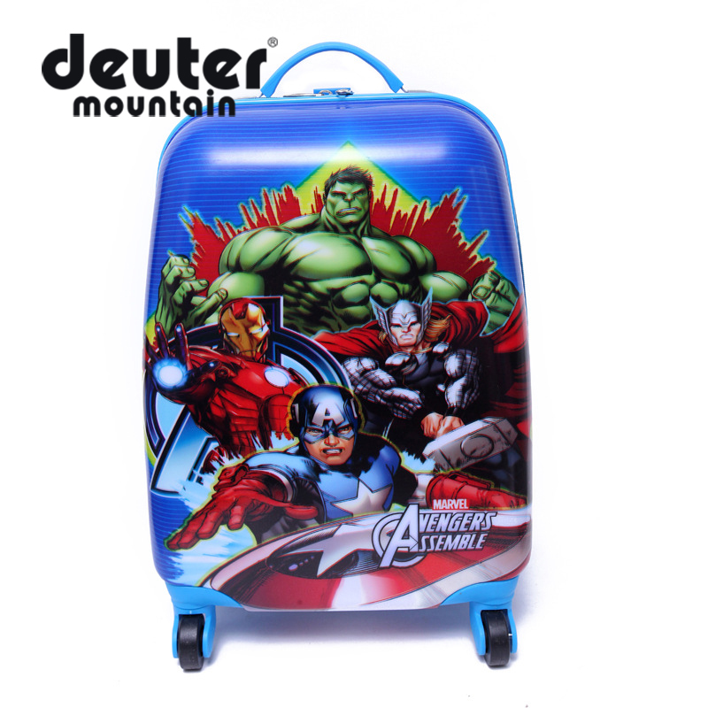 2016 luggage Children's lovely suitcase bag, two wheels or four wheels suit for shool and travle