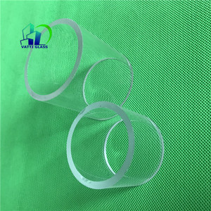Colored borosilicate glass tubing heat resistance high borosilicate glass disc