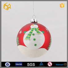 Wholesale hand blown colored glass balls for 2016 christmas