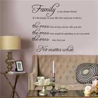 ZOOYOO modern wall decor cheap and fine wallpapers wallpaper decor love family no matter what room decors (8207AB)
