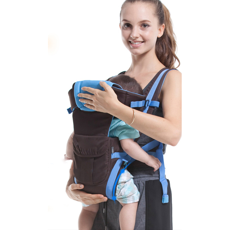 Quality brand all-season breathable baby carrier infant backpack kid carriage wrap kangaroo carry hot sale