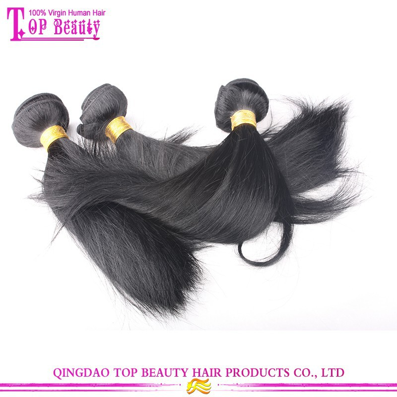 8A 100% Raw Unprocessed Hair weave Wholesale Virgin Peruvian Hair Weaves Pictures
