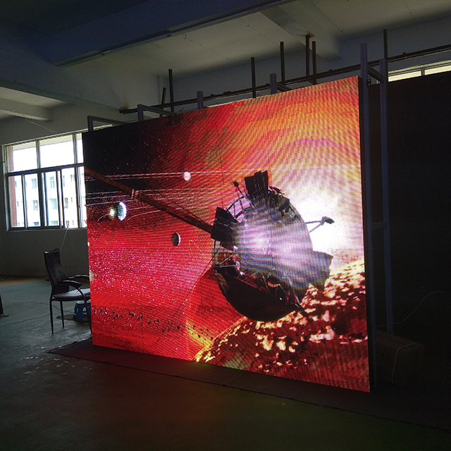 Flexible Full Color Inner Electronic LED Display, Advertising in Shopping Mall LED Panel