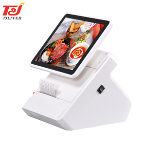Guangzhou touch screen android smart pos terminal machine for cash register