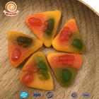 Custom vegetable gel pizza gummy soft candy