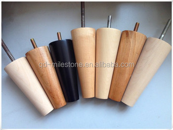 Custom Tapered Birch Wooden Sofa Legs Wood Furniture Legs or Chair Legs : wood chair leg - Cheerinfomania.Com