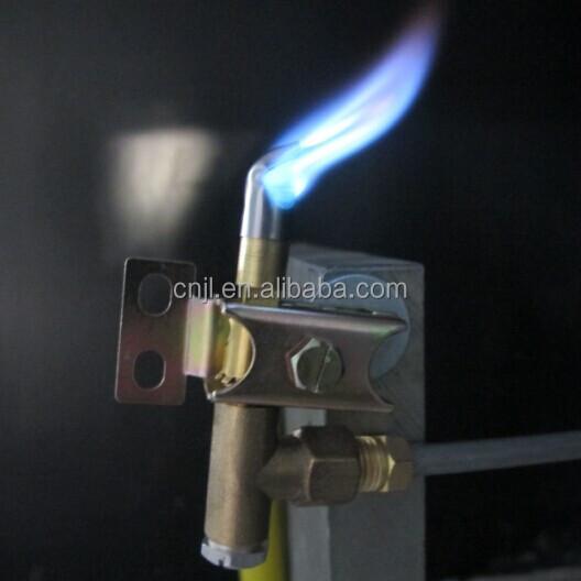 Furnace Gas Burner And Control Parts Adjust Pilot Burner