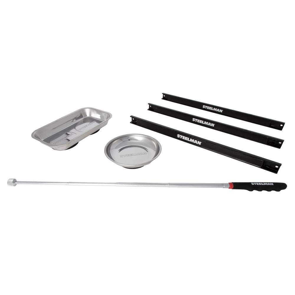 Elitexion Telescoping Magnetic Utility Tray Pick-Up Tool Set 3 Pieces