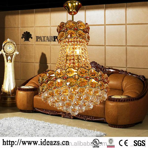 C98197a antigua ara a de cristal l mpara de mesa de alta - Lamparas de arana antiguas ...