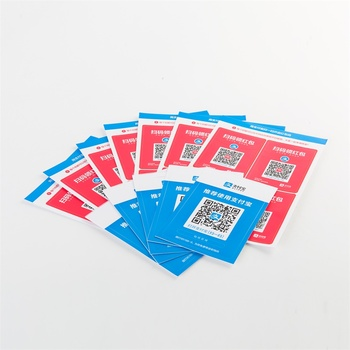 Popular Custom Made Good Quality Date QR Code Cheap Label Stickers