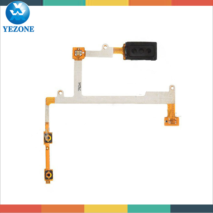 Cell Phone Parts For Samsung Galaxy S3 i9300 Ear Speaker and Volume Flex Cable, Spare Parts For Samsung S3