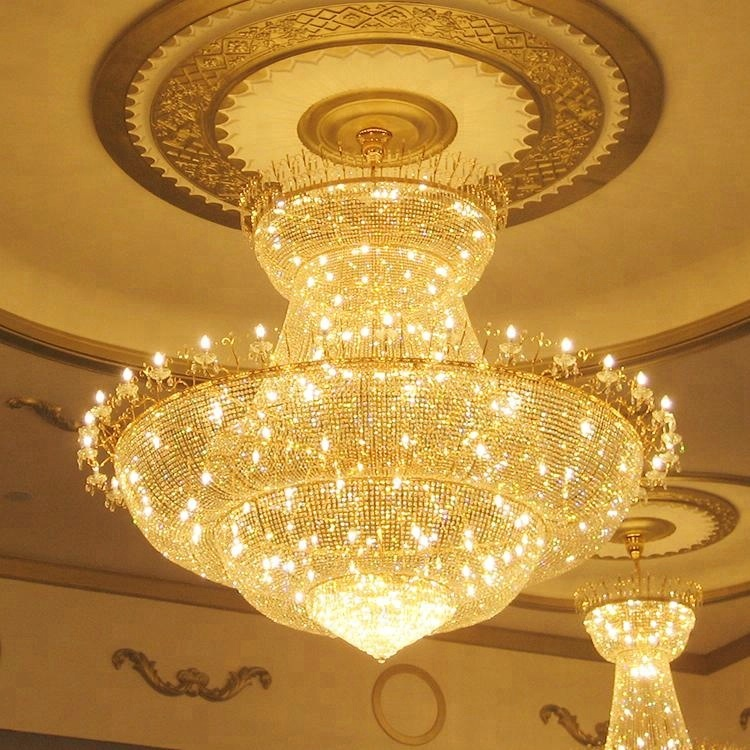 Contemporary style 2 years warranty Glass austrian crystal chandelier
