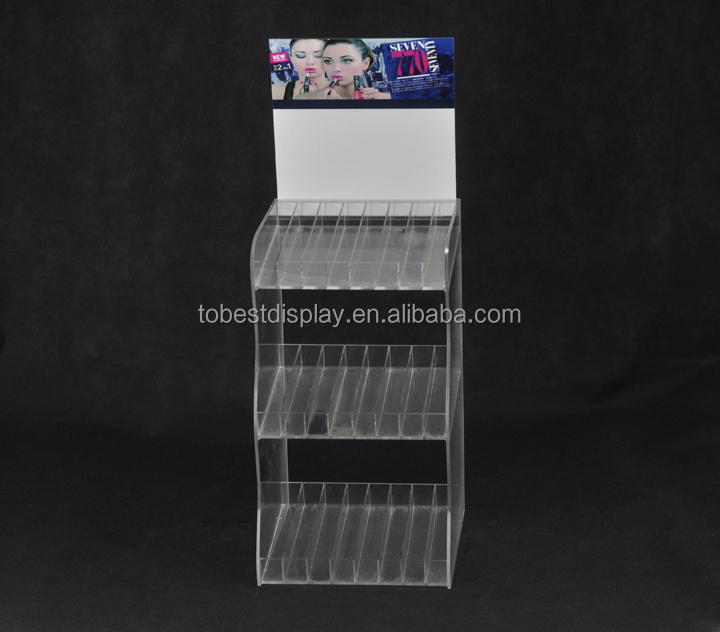 Acrylic Cosmeitc Display Stand,Eyelash Display Stand,Acrylic ...