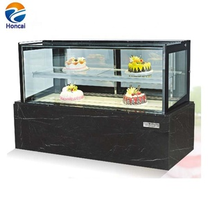 Commercial Marble Stainless Steel Cake showcase Refrigerated Display Cabinet