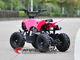 kids gas powered 65kgs/143lbs loading atv 60cc