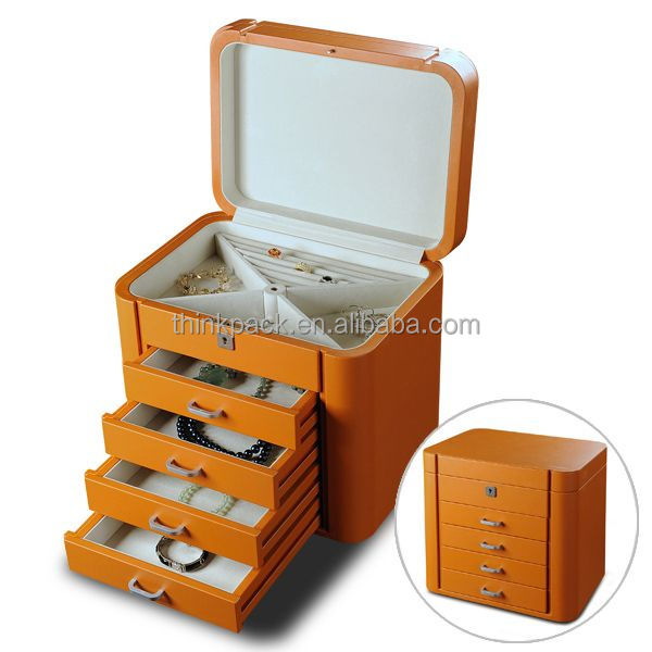 Customized Elegant Jewelry Packaging Drawer Box