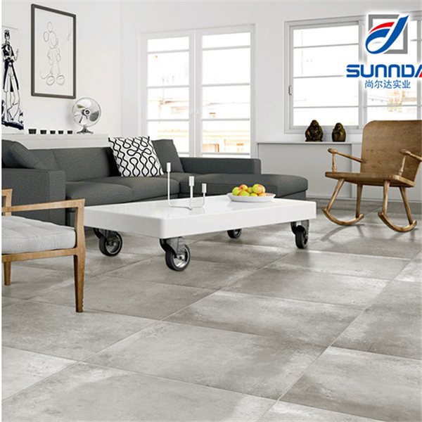 Sunnda Commercial Grade Grey Color Cement Rustic Glaze Porcelain - Commercial grade ceramic floor tiles