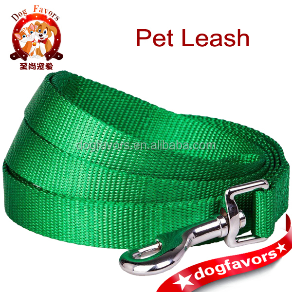 "Pet Better Basic Classic Light Emerald Green Dog Leash 3/4"" by 5',M"