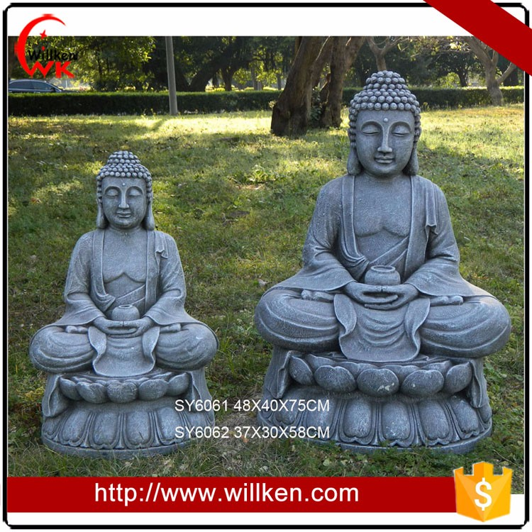 Big And Small Shakyamuni Buddha Garden Statue
