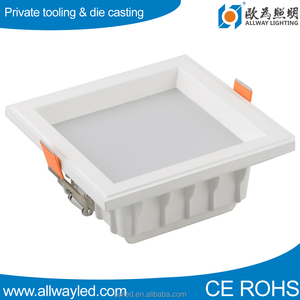 30w square dimmable 18 watt recessed smd led downlight housing