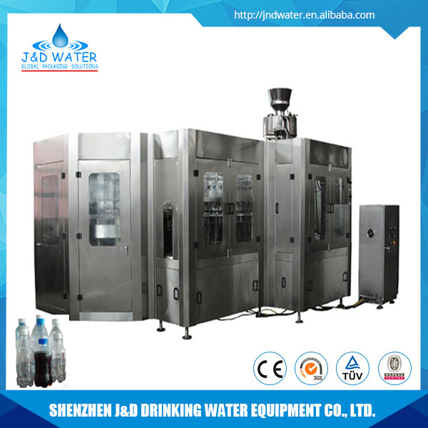 Machinery Manufacturer automatic carbonated filling washing capping machine
