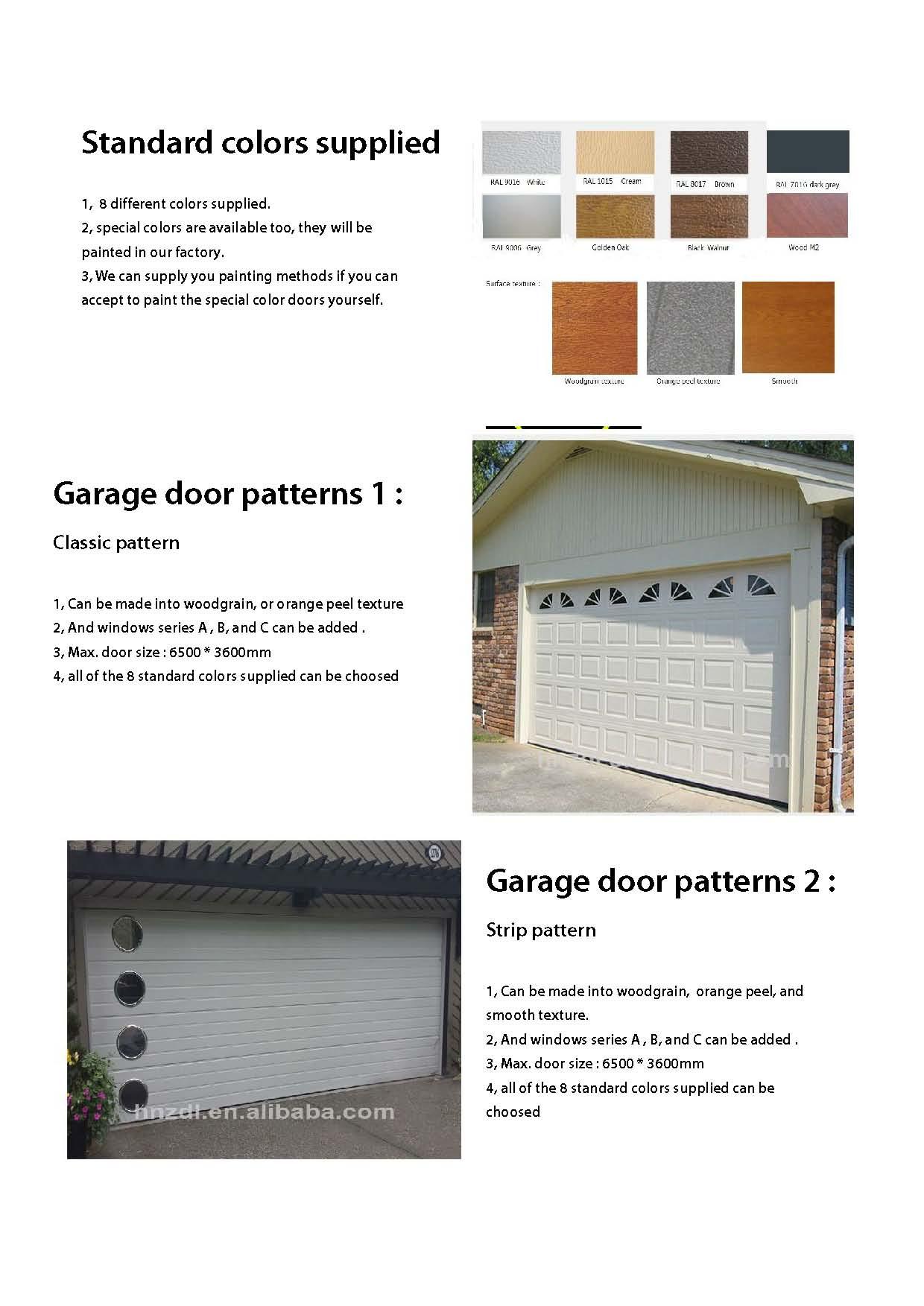 Used Garage Doors Sale / Cheap Garage Doors /alibaba China ...