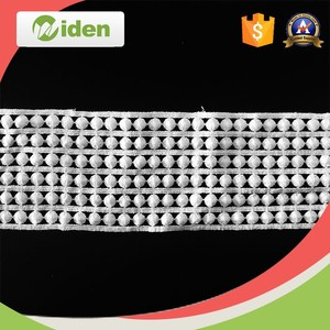 High quality cotton mesh embroidered lace trim