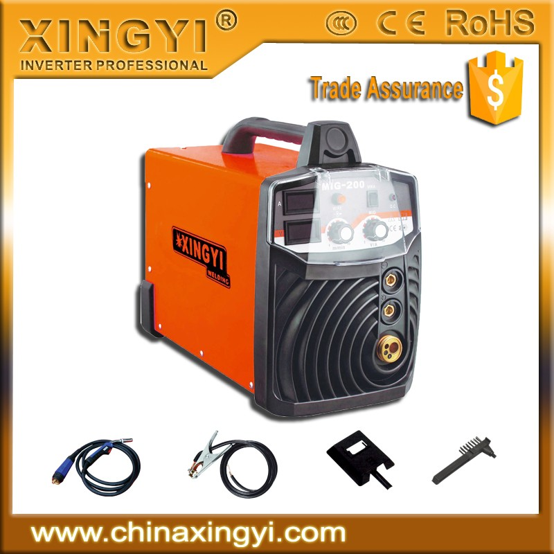 FACTORY OUTLET Competitive price plastic pipe arc MIG-155 welder